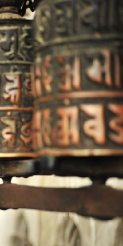 Mantra Chanting class take place every evening during the yoga retreat in Nepal